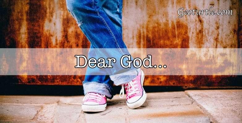Geoturtle - Dear God