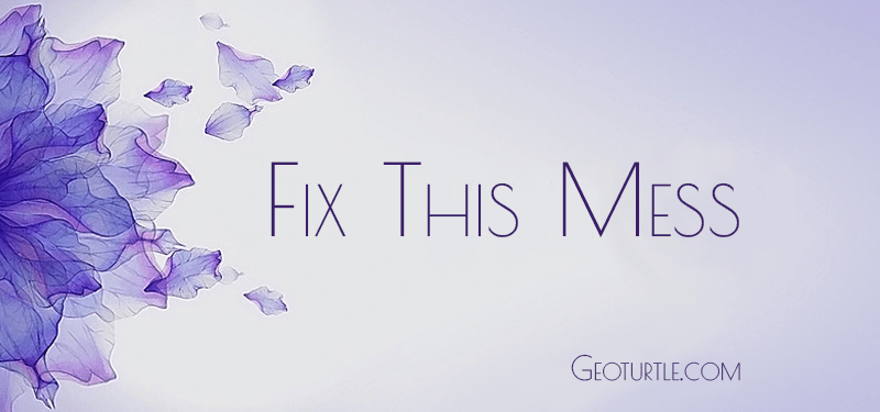 fix-this-mess-geoturtle