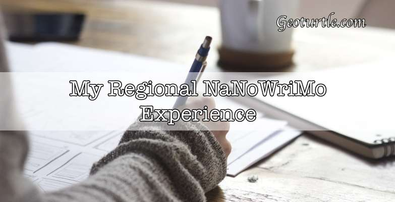 geoturtle-regional-nanowrimo-experience