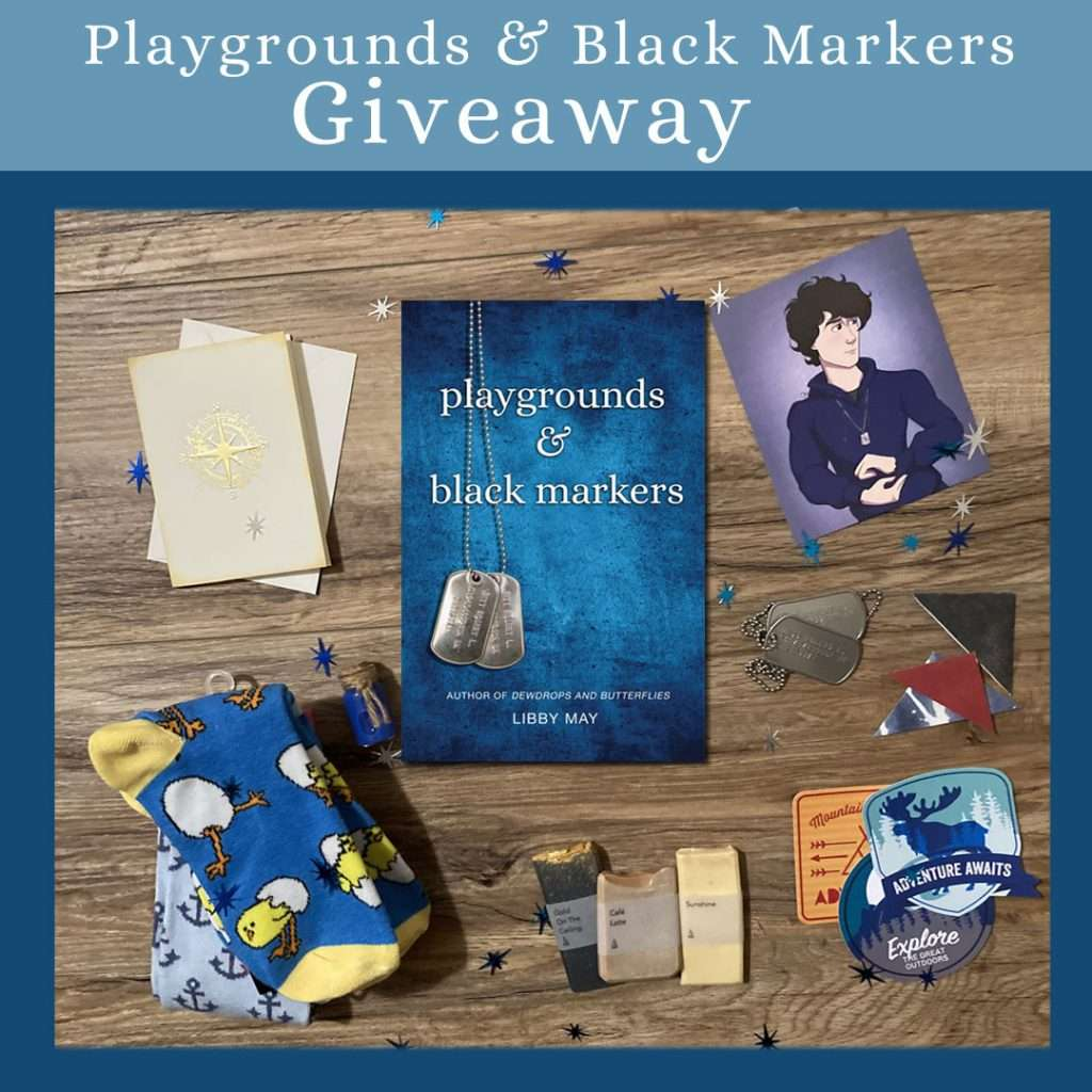 Playgrounds and Black Markers giveaway day three